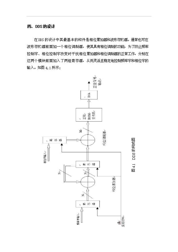 dds信号源的设计与实现实验指导书(最终版)