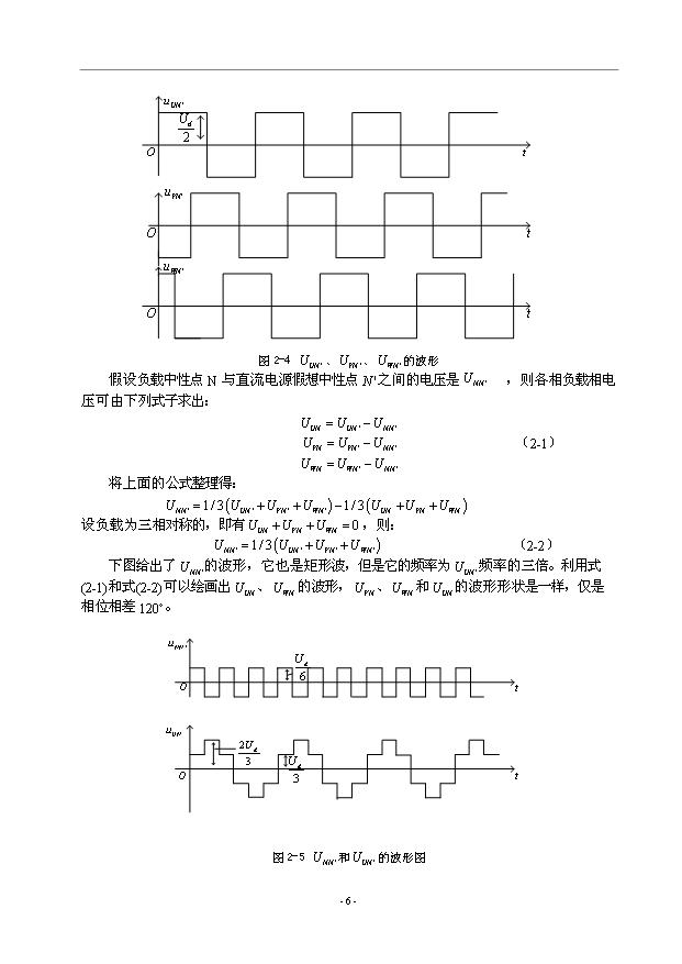 逆变器驱动电路逆变器的驱动电路采用的是在atc单片机控制下,sa芯片