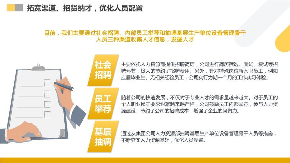 人资行政部年终工作总结优质实用PPT带内容
