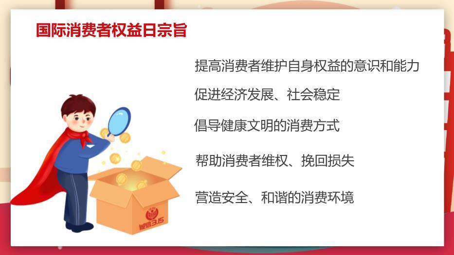诚信315、国际消费者权益保护日PPT课件(精选26张)