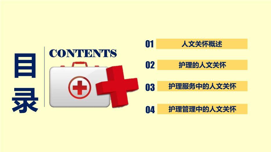 护理的人文关怀课件学习9优)