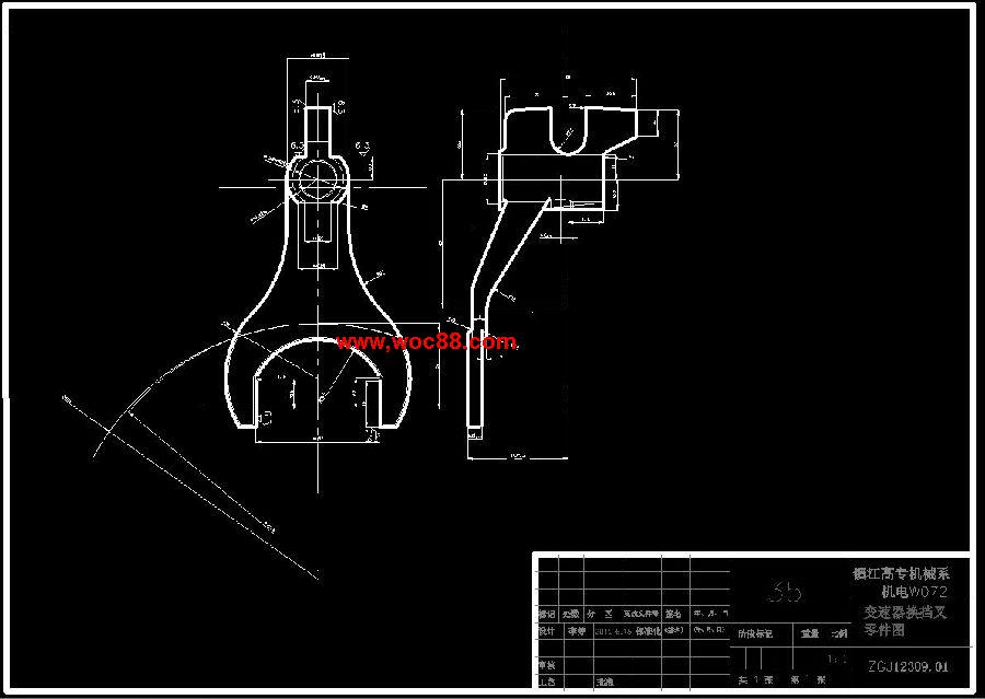 加工工艺规程及其铣叉口面与钻m10螺纹的夹具设计是在学完了机械制图