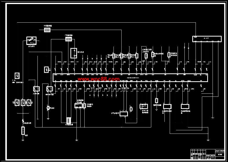 由于我校汽车专业实验室紧缺一种针对丰田佳美v8发动机的翻转试验台