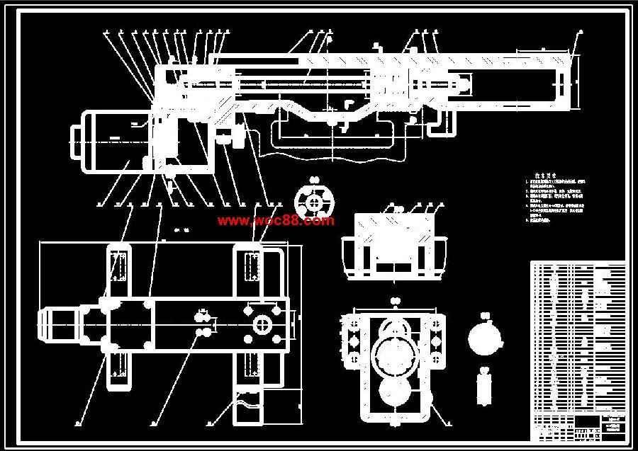 【图纸论文】c6132型车床用微机数控系统改造的设计【cad图纸整套】