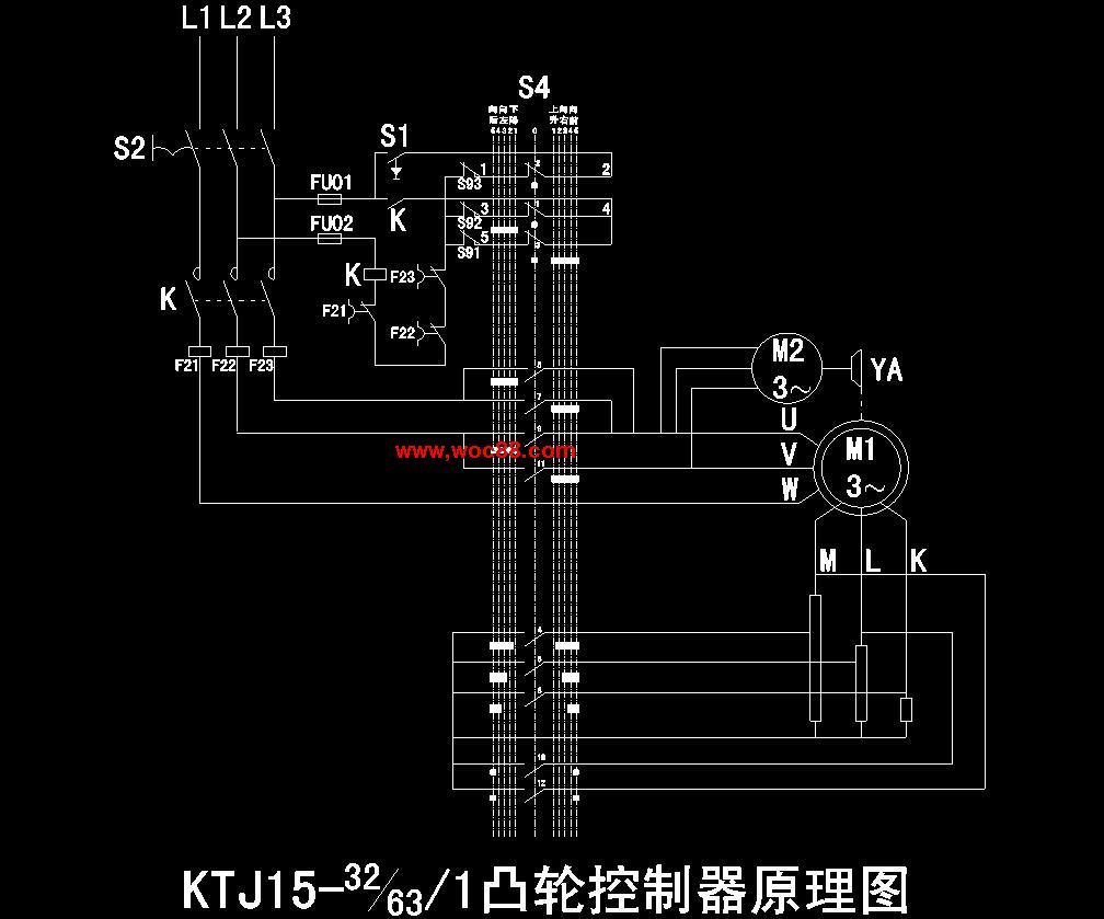 205t桥式起重机控制线路设计.