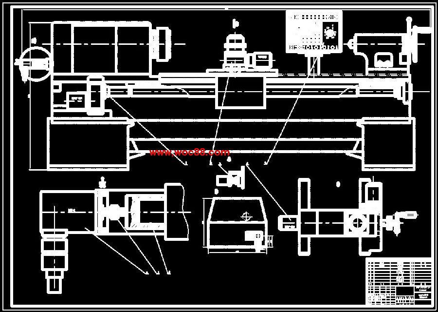 (全套设计打包)c6132型车床用微机数控系统改造的设计(喜欢就下吧)