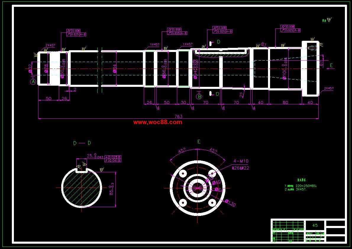 【毕业cad图】铣床的数控xy工作台设计【打包下载】