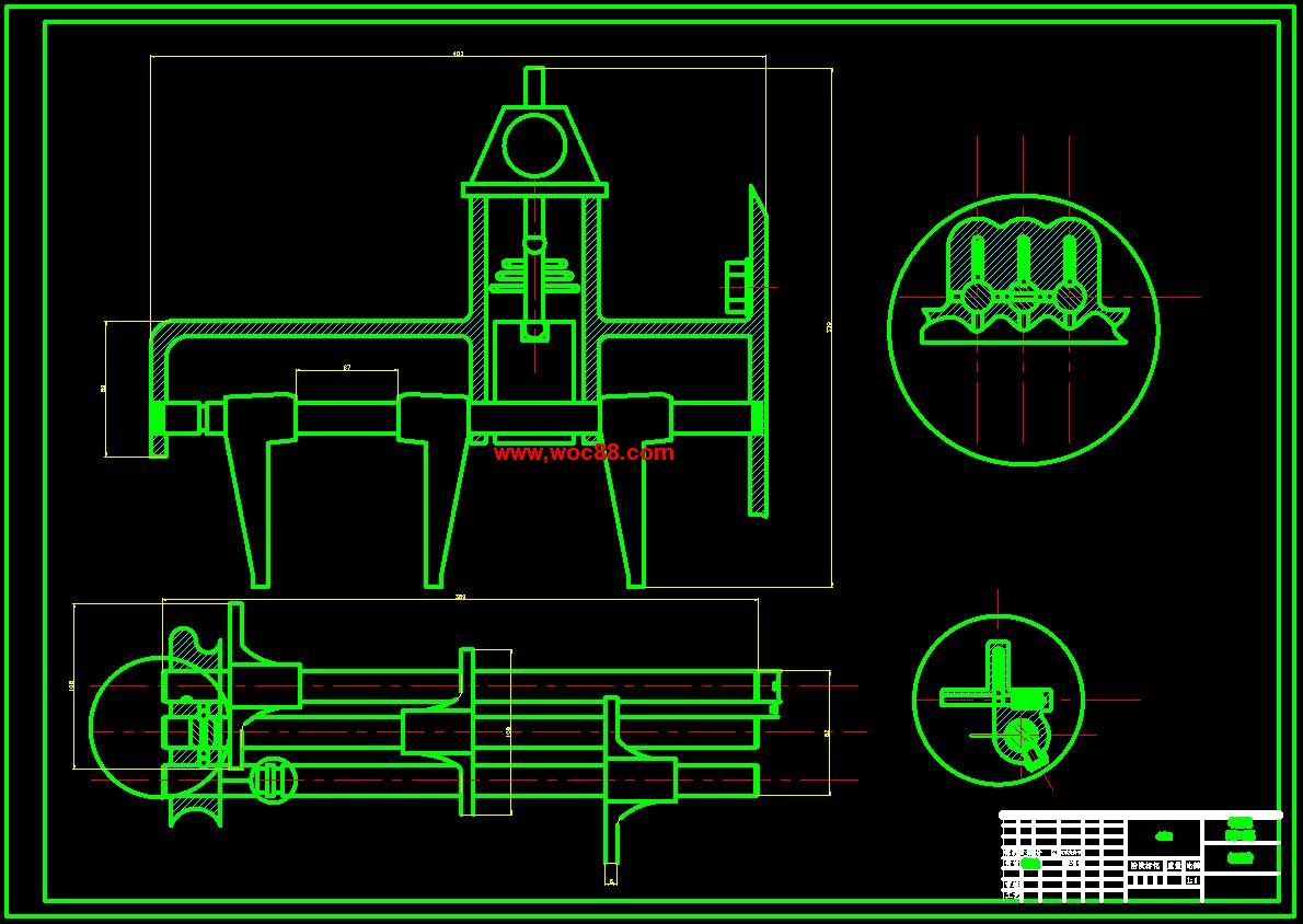 【终稿】雅阁汽车两轴式变速器设计【cad图纸全套】