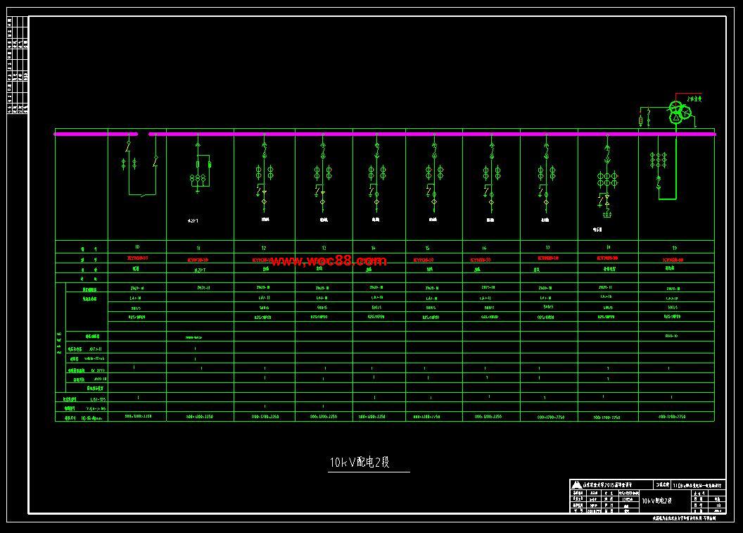 110kv变电站一次系统主接线设计