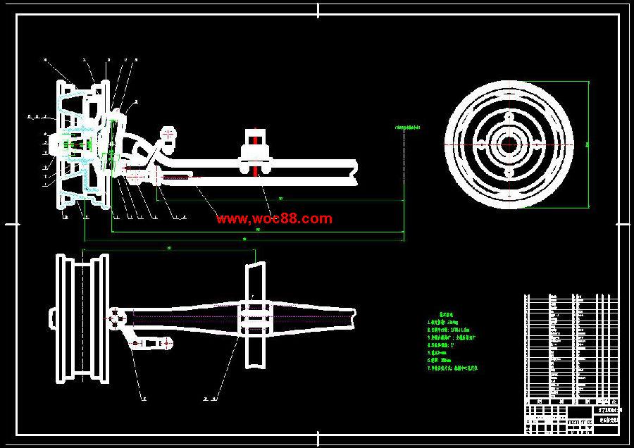 (答辩稿)载重汽车转向桥设计(cad图纸 doc论文)cad截图01