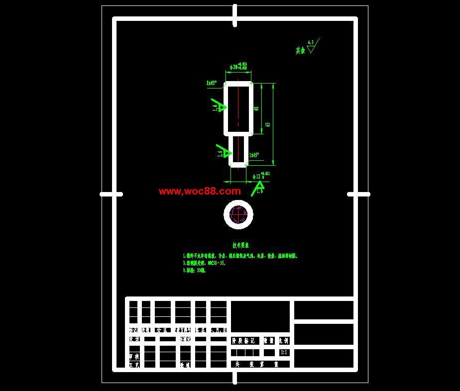 《減速器箱體加工工藝及鏜35孔夾具設計.rar》由會員分享,可在線閱讀全文,更多相關《(圖紙+論文)減速器箱體加工工藝及鏜35孔夾具設計(全套完整)》請在www.woc88.com上搜索。 1、深、上端面MH深、左端端面上MH、右端端面上MH、前端端面上MH、后端端面上MH螺紋,因其尺寸都小于,故采用實心鑄造成型。其他不加工表面,直接鑄造即可達到其精度要求。.確定切削用量及基本工時工序:鑄造去毛刺,飛邊,清理澆口工序:人工時效工序:內壁涂黃漆,非加工表面涂底漆工序:以頂面與主要孔定位,畫出外表面