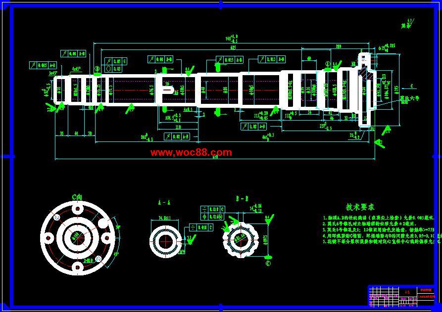 (全套cad)ca6140普通车床主轴变速箱设计(终稿)