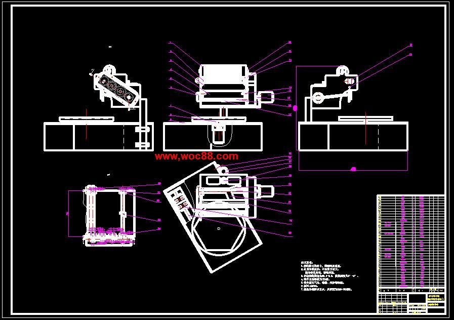 手画钢结构设计图纸