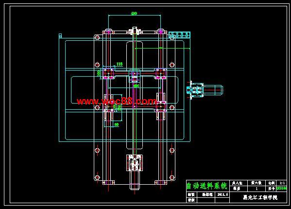 (完稿)液压折弯机设计(cad全套)图片