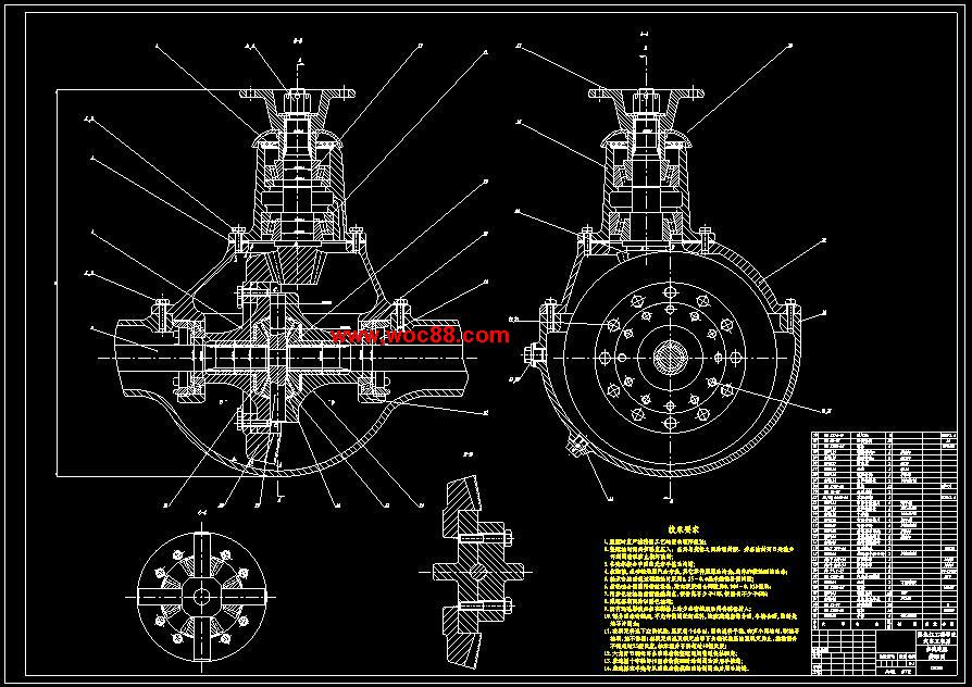 车主减速器的作用_【终稿】轻型车主减速器设计【cad图纸全套】