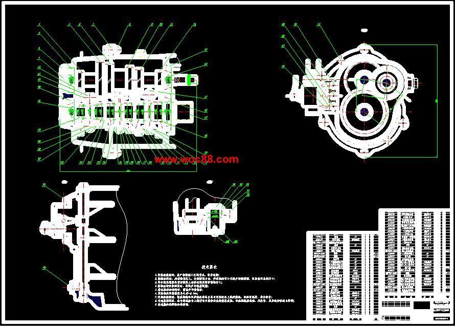 《捷达轿车GIF两轴式变速器设计.rar》由会员分享,可在线阅读全文,更多相关《【终稿】捷达轿车GIF两轴式变速器设计【含整套CAD图纸】》请在www.woc88.com上搜索。  1、速器的齿根弯曲疲劳强度和齿面接触疲劳强度进行校核。、轴的基本尺寸的确定及强度计算对于轴的强度计算则是对轴的刚度和强度分别进行校核。、轴承的选择与寿命计算对变速器轴的支撑部分选用圆锥磙子轴。 2、mm。齿轮参数的选择、模数选取齿轮模数时一般要遵守的原则是:为了减少噪声应合理减小模数,同时增加齿宽为使质量小些,应该增加模数,同