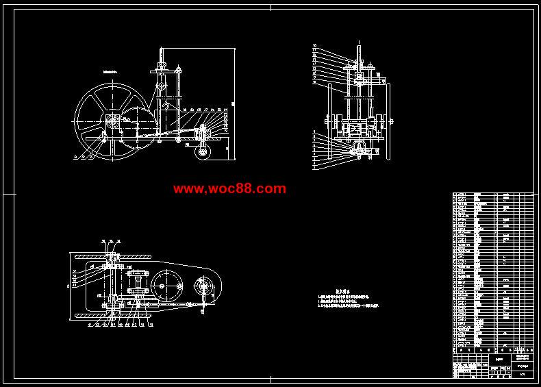 《无碳重力势能小车设计.rar》由会员分享,可在线阅读全文,更多相关《无碳重力势能小车设计》请在www.woc88.com上搜索。 1、计是提高小车性能的关键。在设计方法上考虑优化设计、系统设计等现代设计理论方法。第章方案设计通过对小车的功能分析小车需要完成重力势能的转换、驱动自身行走、自动避开障碍物。为了方便设计这里根据小车所要完成的功能将小车划分为五个部分进行模块化设计(车架、原动机构、传动机构、转向机构、行走机构、微调机构)。为了得到令人满意方案,采用扩展性思维设计每一个模块,寻求多种可行的方案和构