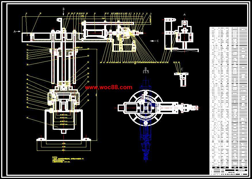 完成了相应的接线图和程序