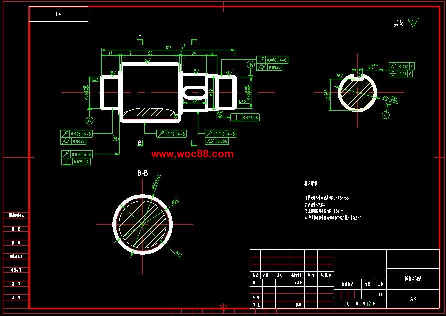 (毕业设计图纸全套)多自由度机械手设计(含说明书)cad截图07