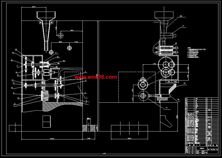 【毕业设计】多功能封口机的结构设计【有cad图纸的哟】