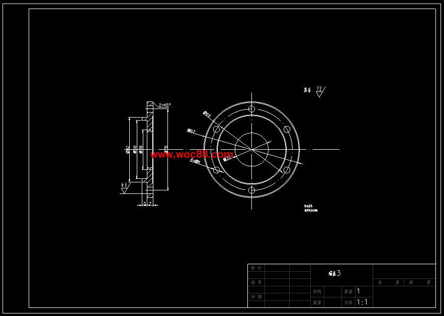 《多功能封口机的结构设计.rar》由会员分享,可在线阅读全文,更多相关《【毕业设计】多功能封口机的结构设计【有CAD图纸的哟】》请在www.woc88.com上搜索。  1、封机构需要的力相对来说不是很大,所以横封机构分配到的功率为总功率的其它两个占总功率的纵封相对切断装置来说需要的力更大,所以它分配到剩下功率的,则:P横封=P主轴=WP纵封=P主轴=WP切断=P主轴=W链轮。 2、,查表选取小链轮齿数z=。)确定链型号和链节距查表得工作情况系数KA=,查得小链轮齿系数Kz=,查得多排链系数K=,则计算功