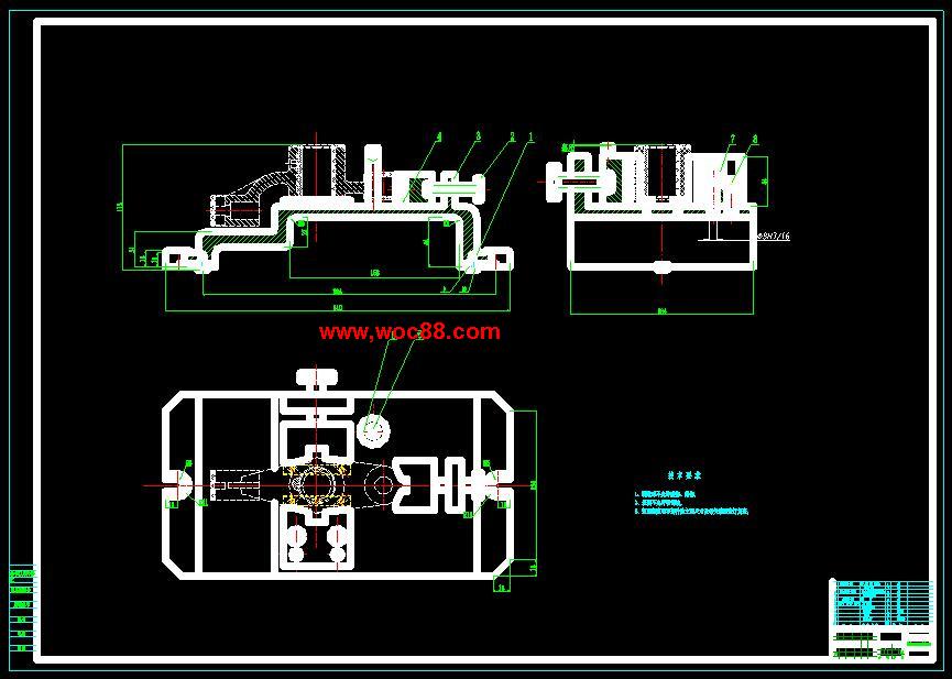 《毕业设计_推动架零件工艺规程及铣端面夹具设计铣50凸台面夹具设计.rar》由会员分享,可在线阅读全文,更多相关《【终稿】推动架零件工艺规程及铣端面夹具设计铣50凸台面夹具设计【CAD图纸全套终稿】》请在www.woc88.com上搜索。  1、卧铣。选择XA卧式铣床。n工序铣mm孔和铣mm的孔在同一基准的两个端面,宜采用卧铣。 2、mm的孔选用锥柄麻花钻。用Z立式钻床加工。工序钻半、精铰、精铰mm,倒角。nb工序铣。 3、床。工序钻、扩、铰mm,倒角。工序铣mm孔和铣mm的孔在同一基准的两