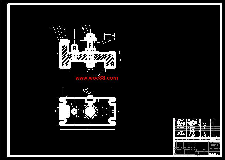 (完稿)推动架夹具设计[钻16孔,铣35端面](cad全套)