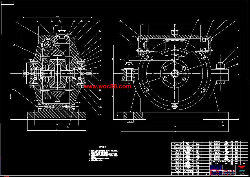 【cad设计图纸】钢球机械无级变速器结构的设计【全套