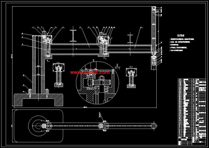 【cad设计图纸】电动式关节型机器人机械手的结构设计与仿真【全套终