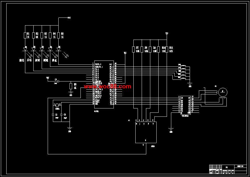 docplc系统总图.dwg步进电机控制驱动图.doc传感器线路图.