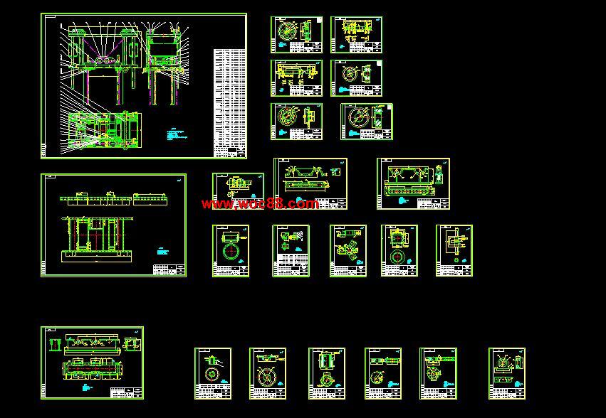 【终稿】码坯机升降机构的设计【含整套cad图纸】