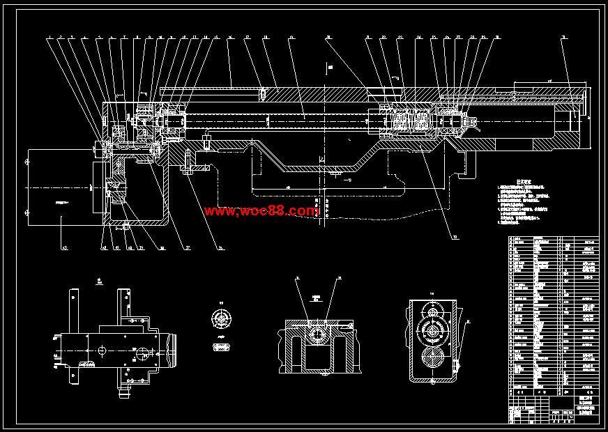 《CK6136数控卧式车床机械结构设计.rar》由会员分享,可在线阅读全文,更多相关《【图纸全套】CK6136数控卧式车床机械结构设计【终稿】》请在www.woc88.com上搜索。 1、范围内可以用最大切削速度来加工时的最小工件直径和用最小切削速度来加工时的最大工件直径,这样才能得出合。 2、参数一般根据主参数来确定。但由于机床的使用情况比较复杂,这些尺寸参数的确定还有相似分析法和图解分析法。 3、限制在必需的最少范围内。()优先数系具有各种不同公比的系列,因而可以满足较密和较疏的分级要求。n部工。 4