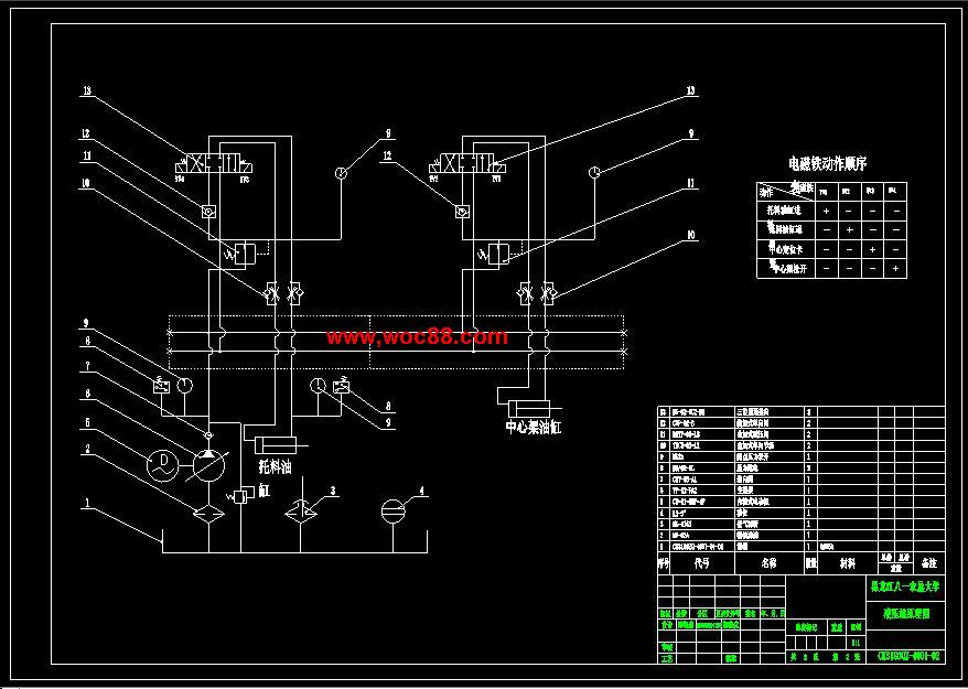 【终稿】ck6136数控卧式车床机械结构设计【cad图纸全套终稿】