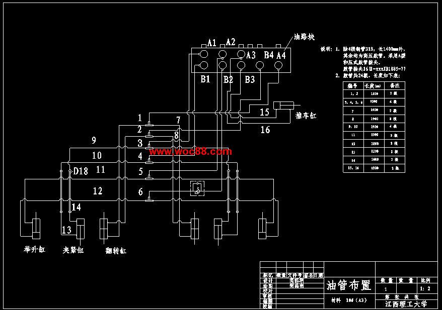 目前定型产品只有固定式圆盘翻车机,它只能固定向一个矿仓卸矿,不仅