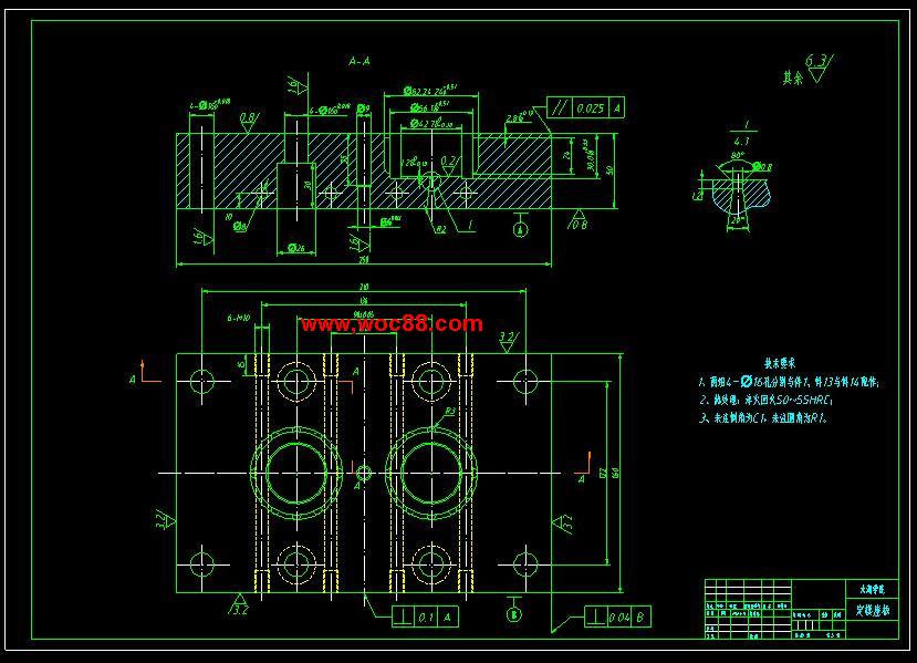 (经典+带轮)语言论文模流v经典及模具设计(c++塑料例题程序设计图纸图片