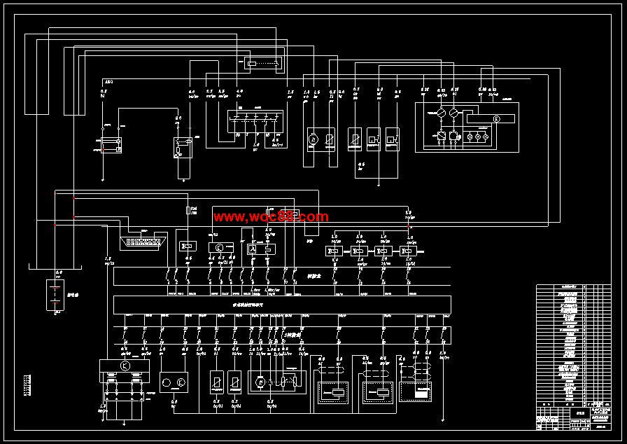 【图纸论文】花冠轿车发动机电子控制系统实验台设计【cad图纸整套】