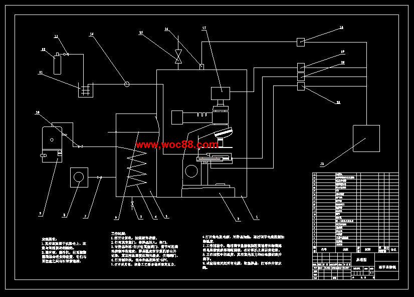 冻干机工作原理电路图