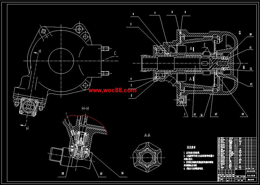 (全套设计打包)离心分离器结构设计及solidworks建模(喜欢就下吧)