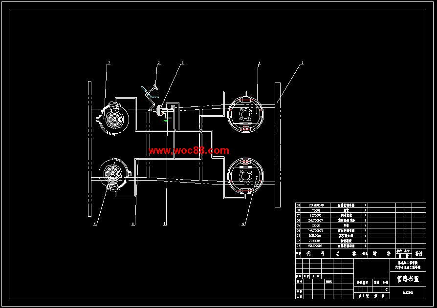 【终稿】汽车制动系统的设计【含整套cad图纸】