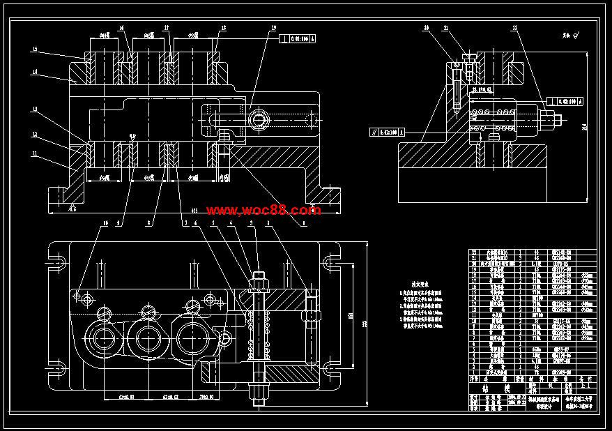 【全套设计】ca6140车床后托架工艺规程钻Φ40及钻Φ30.2和钻Φ20.