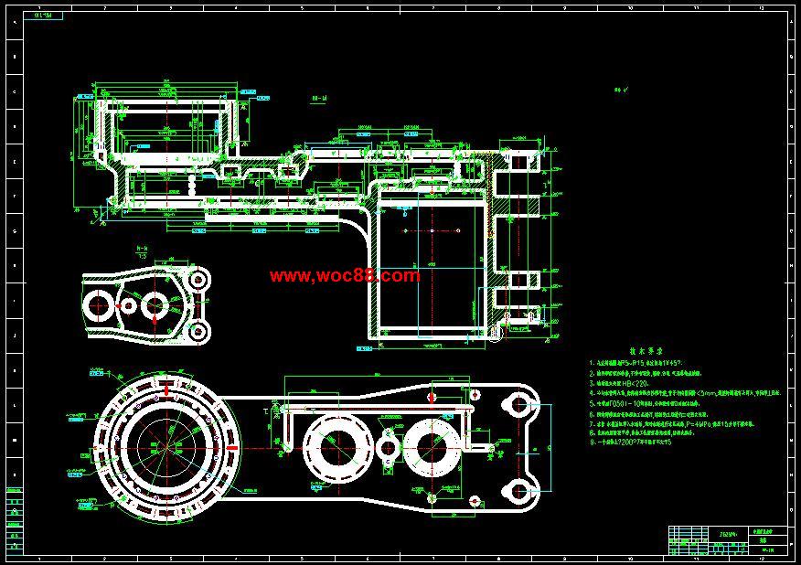 《MG400930WD型电牵引采煤机截割部设计.rar》由会员分享,可在线阅读全文,更多相关《【终稿】MG400930WD型电牵引采煤机截割部设计【论文图纸】》请在www.woc88.com上搜索。 1、=则==s)结构设计小齿轮的结构设计:考虑到齿轮直接和电动机的输出轴相连,因此采用内设花键与电动机的扭矩轴连接,二轴齿轮中心轮组齿轮结构:第二级惰轮的结构:第一级行星减速器的设计计算)选。 2、式计算齿顶高按如下公式计算齿根高按如下公式计算=(+x)m齿全高=(+)m齿顶圆直径=d齿根圆直径=d一齿mg,