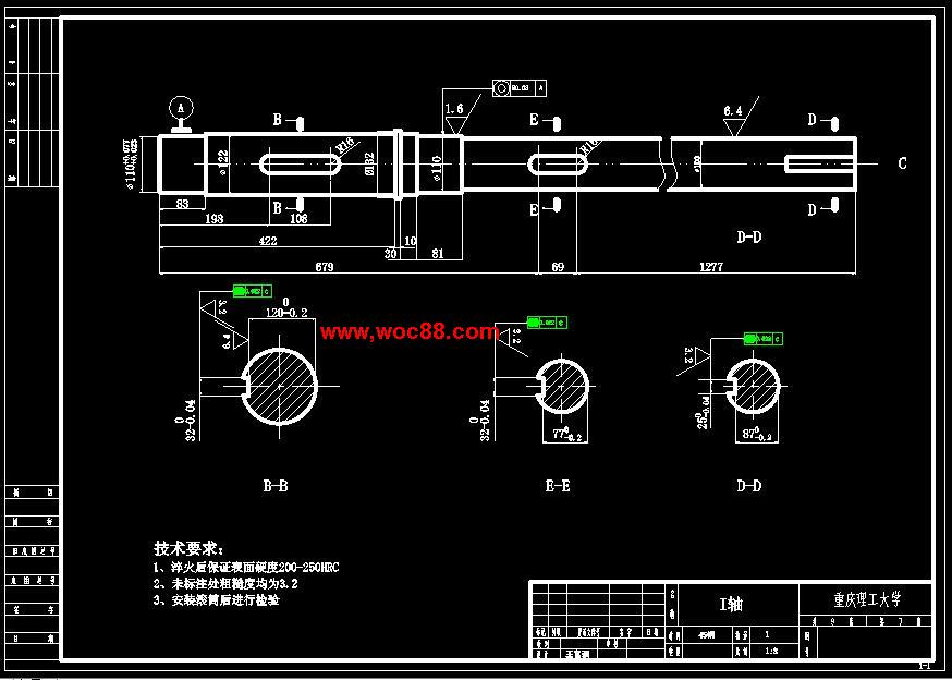 (图纸+论文)psh4d型立体停车库升降传动机构设计(全套完整)