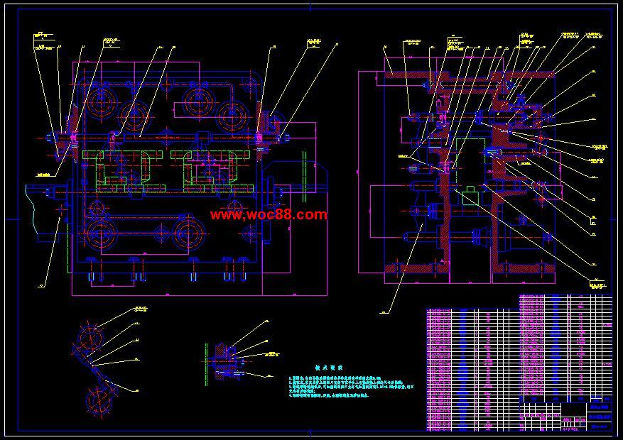 【图纸下载】zh1105柴油机气缸盖扩孔专机总体及夹具设计【毕业设计】图片