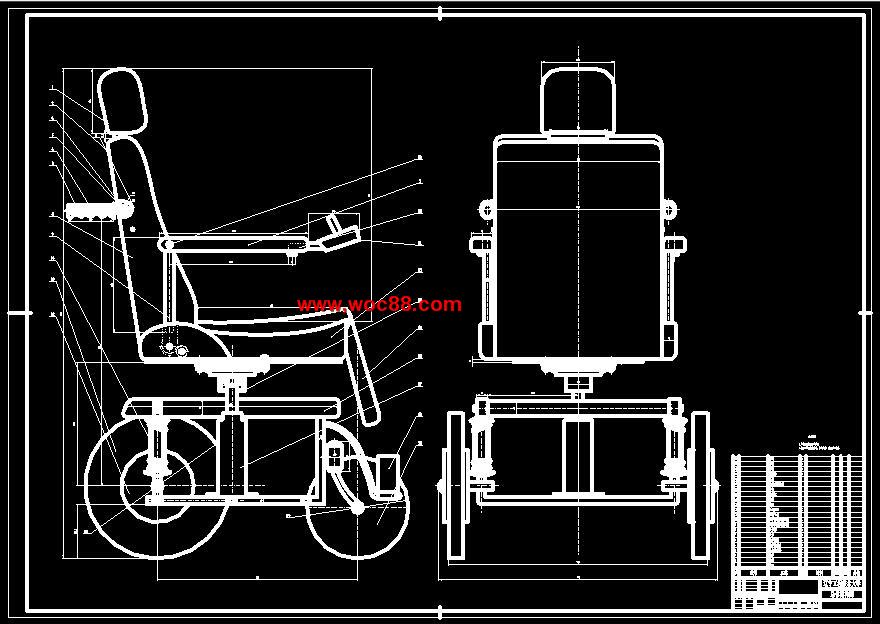 《人性化轮椅设计.rar》由会员分享,可在线阅读全文,更多相关《(定稿)人性化轮椅设计(全套下载)》请在www.woc88.com上搜索。  1、到常规换相运行状态。软启动的电控方案解决了零状态起步耗电大的问题,大幅度地提高了一次充电的续行里程。常规的换相运行是直接根据位置传感器传来的信号进行换相控制,同时将电机速度反馈信号和手把给定的速度信号相减,得出偏差,经过控制算法得出控制量。再以控制量驱动步进电机,带动电位器,输入给驱动电路,由驱动电路调节逆变器的输出电压,就调节了电机的电磁转矩当电磁转矩和负载