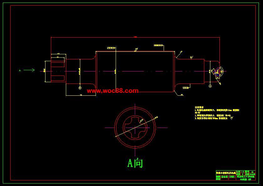 【毕业cad图】二辊小型辊板带轧钢机设计【打包下载】