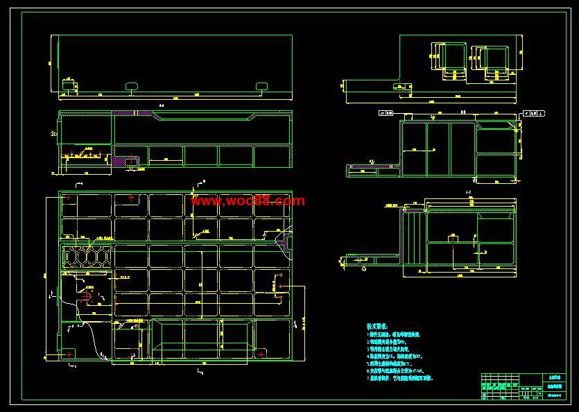 环数控车床总体设计【含整套CAD图纸】 下载本资源将获得以下文档