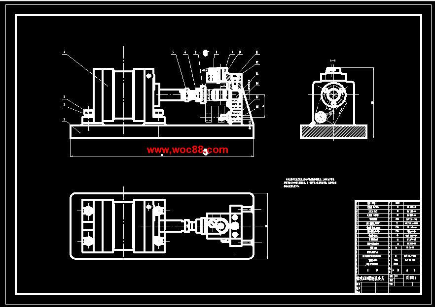)制定工艺路线制定工艺路线得出发点,应当是使零件的几何形状、尺寸精度及位置精度等技术要求能得到合理的保证,在生产纲领已确定的情况下,可以考虑采用万能性机床配以专用工卡具,并尽量使工序集中来提高生产率。  除此之外,还应当考虑经操纵离合器和制动器,即同时控制主轴的开、停、换向和制动。  操作过程如下:当手把控制手柄座向上扳动时,车床内部的拉杆往外移,则齿扇向顺时针方向转动,带动齿条轴往右移动,通过拨叉使滑套向右移,压下羊角形摆块的右角,从而使推拉