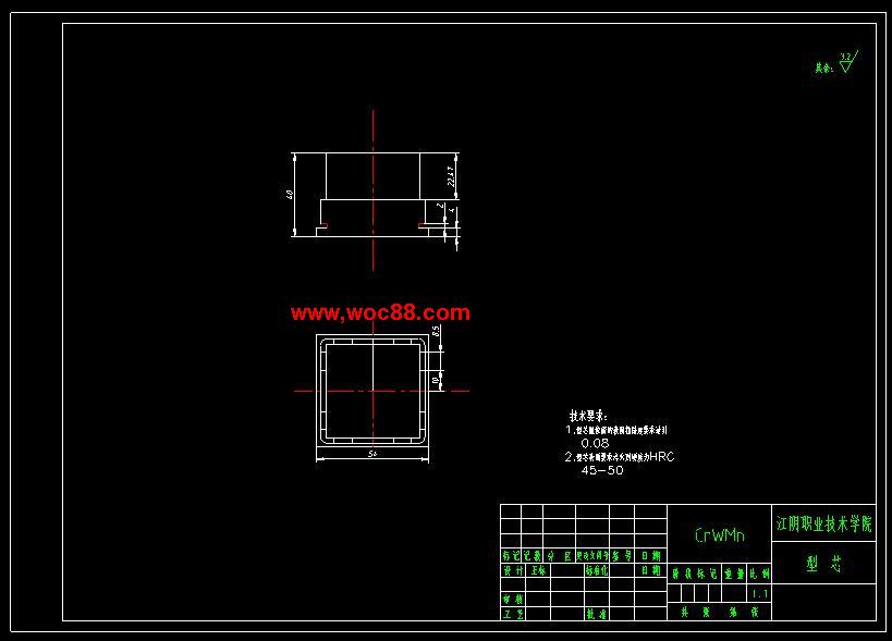 《扣盖的注塑模设计.rar》由会员分享,可在线阅读全文,更多相关《【毕业设计】扣盖的注塑模设计【有CAD图纸的哟】》请在www.woc88.com上搜索。  1、尽量对称布置,根据以上原则斜导柱孔在滑块上的位置尺寸为mm。滑块定位凹坑位置尺寸为mm楔紧块的设计()在制品注射过程中,侧型芯在抽芯方向受到熔体较大的推力作用,这个力通过滑块传给斜导柱,而一般斜导柱为细长杆,受力后容易变形,因此设置楔紧块,同压滑块,使滑块不致产生位移,从而保证斜导柱,保证滑块在。 2、替导套,该孔俗称导向孔导向装置的作用:导向作