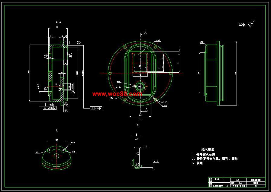 (独家原创)JH31-63机械压力机的设计(全套CAD图纸完整版)CAD截图02