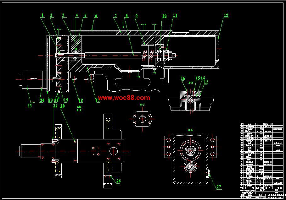 (独家原创)CA6150普通车床的数控技术改造(全套CAD图纸完整版)CAD截图01